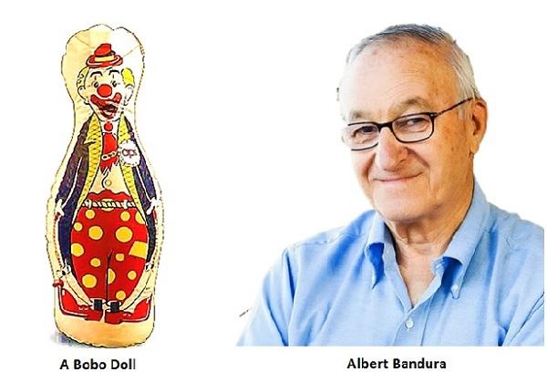 """Експеримент Альберта Бандури  «Лялька  Бобо» (тема """"Виховання дітей дошкільного віку"""")"""
