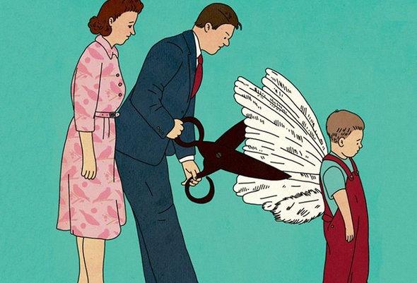 Я дав би дитині крила…