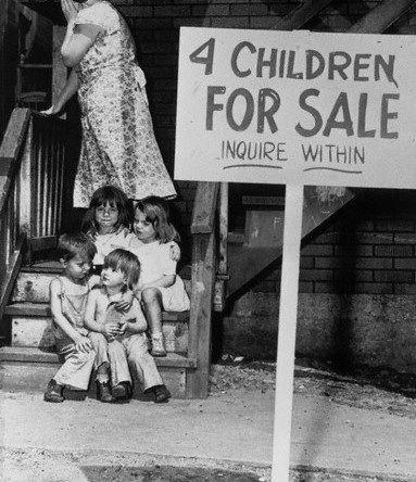 Із історії дошкільного дитинства:  факти жорстокості дорослих