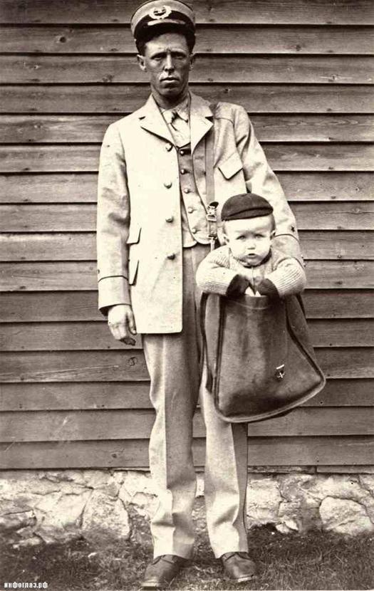 Історія Дитинства: доставка дітей посилками
